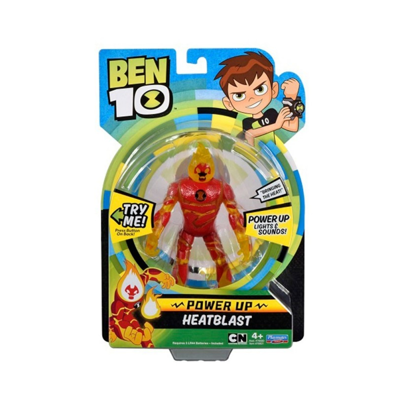 Figurina Ben 10 - POWER UP cu sunete si lumini - Torta Vie