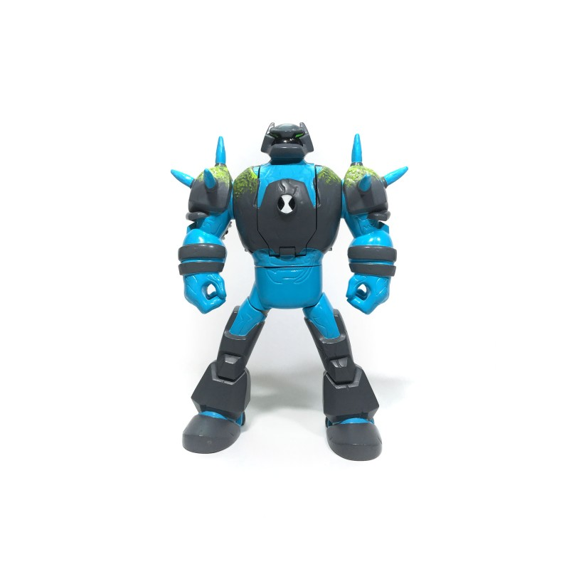 Figurina Ben 10 Transformabila DELUXE - Shock Rock