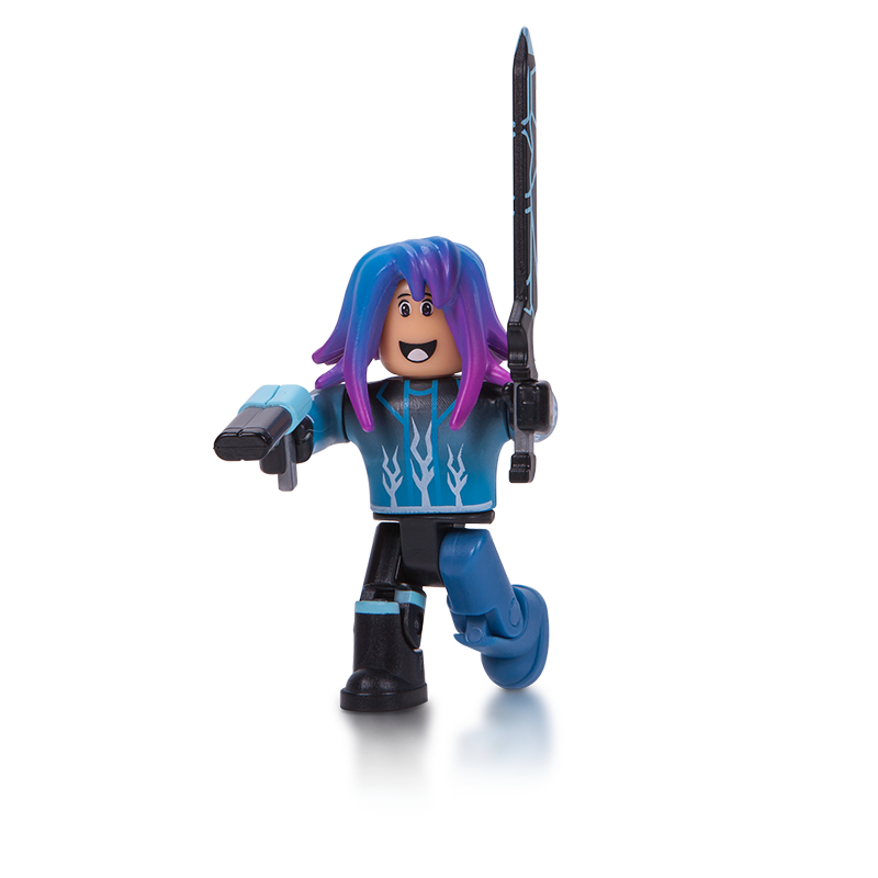 FIGURINA ROBLOX - BLISTER Blue LAZER Parkour Runner