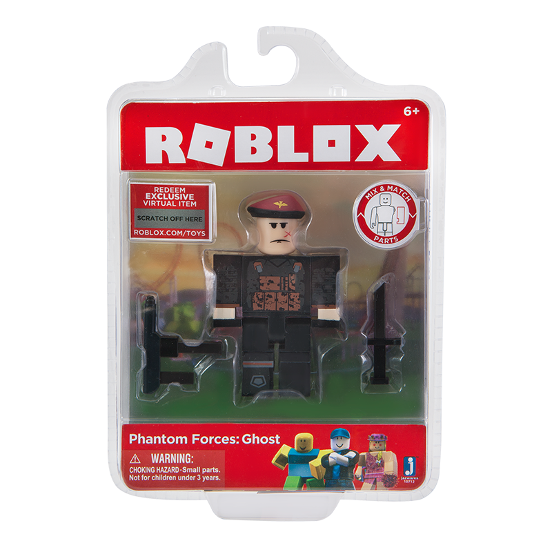 FIGURINA ROBLOX - BLISTER Phantom Forces : Ghost