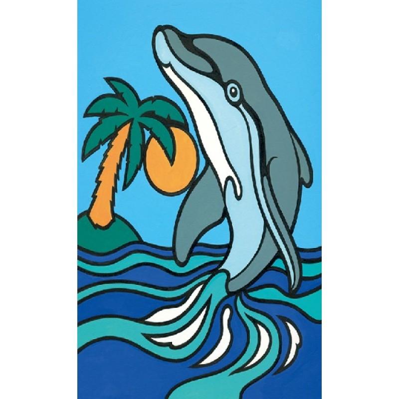 Pictura pe numere - Delfin