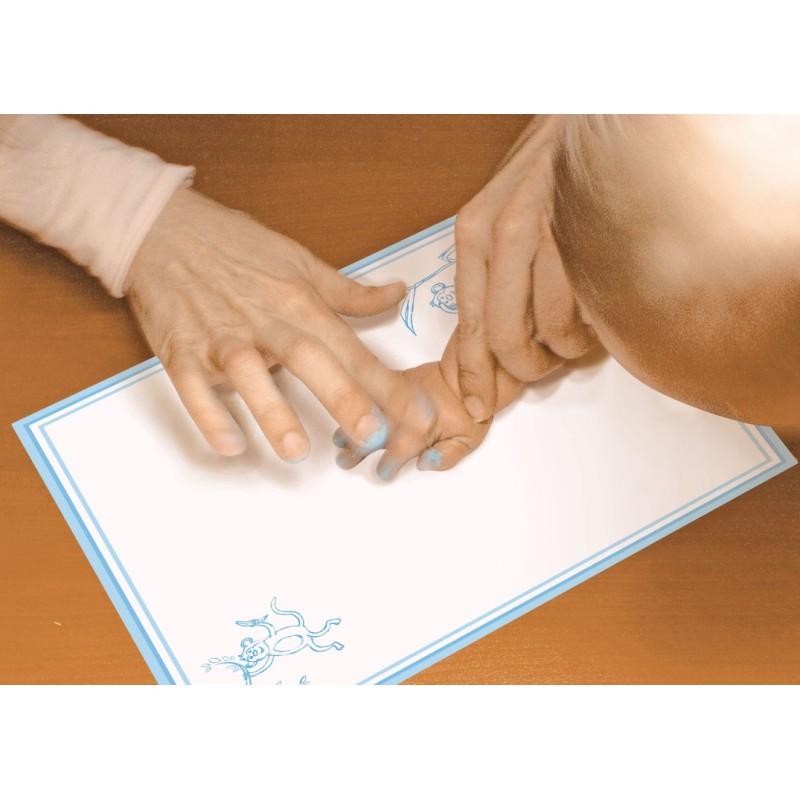 Set creativ - Amprenta pe canvas