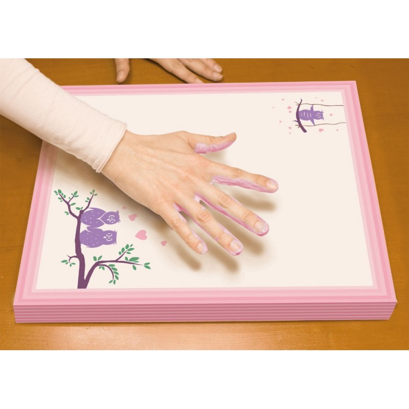 Set creativ - Amprenta pe canvas