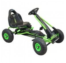 Kart cu pedale Speed Fever Green