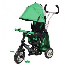 Tricicleta cu sezut reversibil Sunrise Turbo Trike Green
