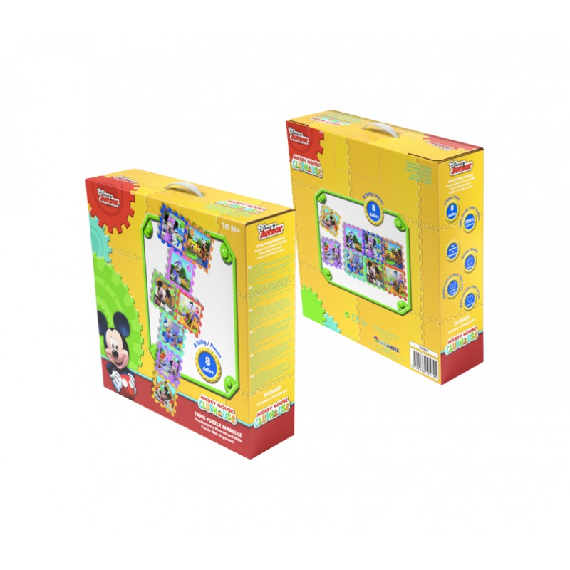 Covor puzzle din spuma Sotron Minnie & Mickey Mouse 8 piese