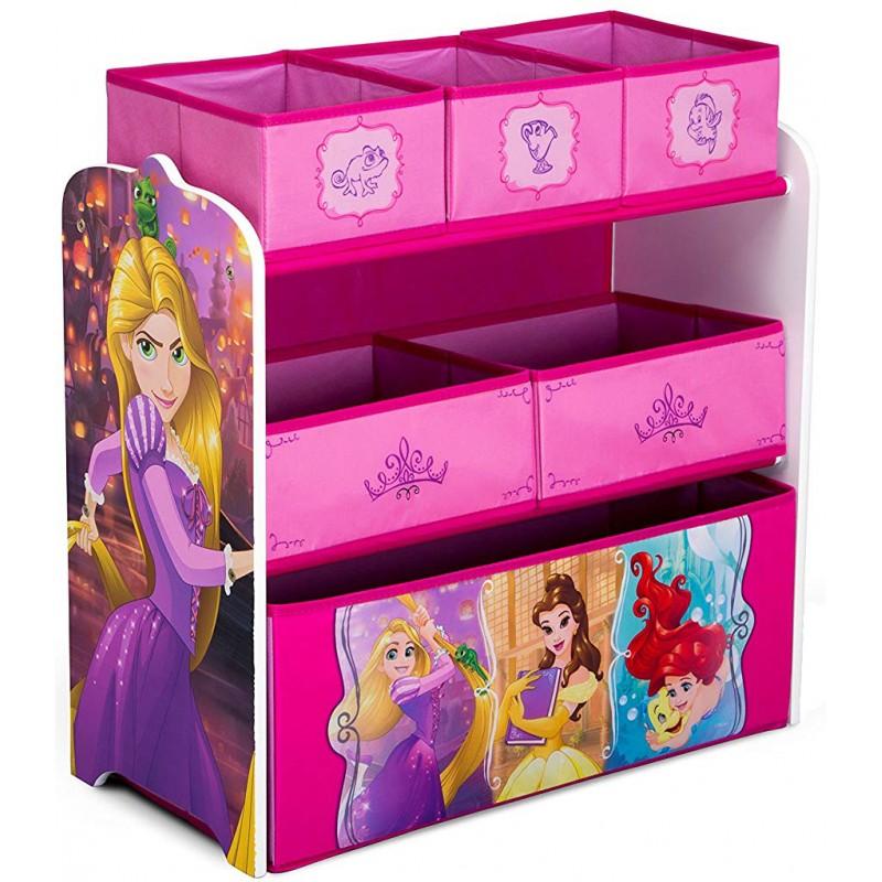 Organizator jucarii cu cadru din lemn Disney Princess