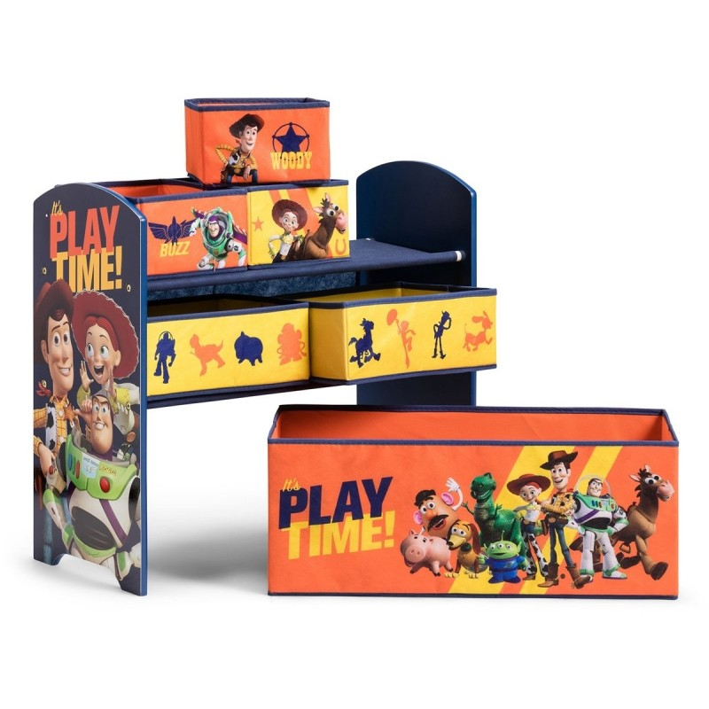 Organizator jucarii cu cadru din lemn Toy Story
