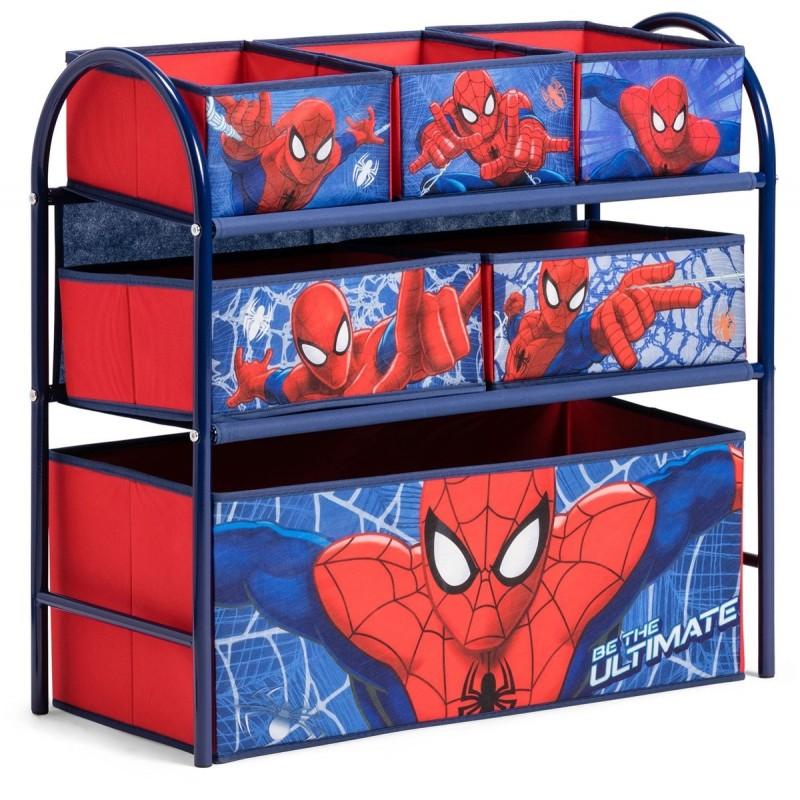 Organizator jucarii cu cadru metalic Spiderman
