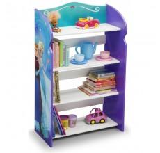 Raft carti si jucarii cu cadru din lemn Disney Frozen