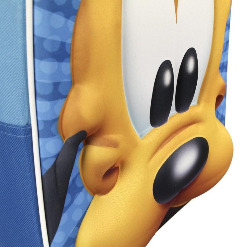 Ghiozdan tip rucsac gradinita 3D Pluto Disney
