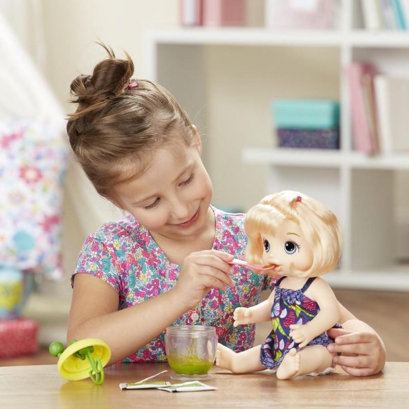 BABY ALIVE - Papusa INTERACTIVA Sweet Spoonfuls (fetita blonda)