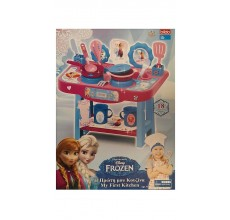 Bucatarie Frozen Disney cu 18 accesorii