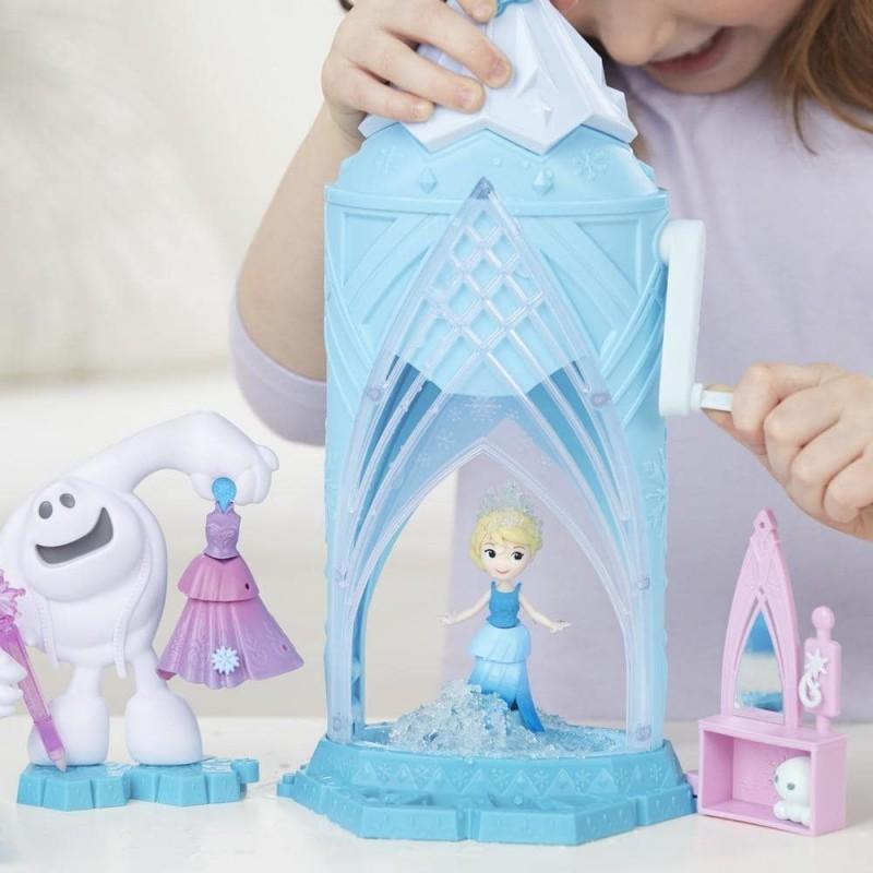 Castelul de gheata al Elsei Magical Snow Maker
