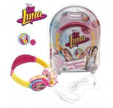 Casti audio cu sclipici Soy Luna Disney