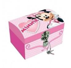 Cutie bijuterii Minnie Mouse Disney cu cheita