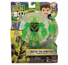 Figurina Ben 10 - Cap de Diamant (12 cm) - Out of the Omnitrix
