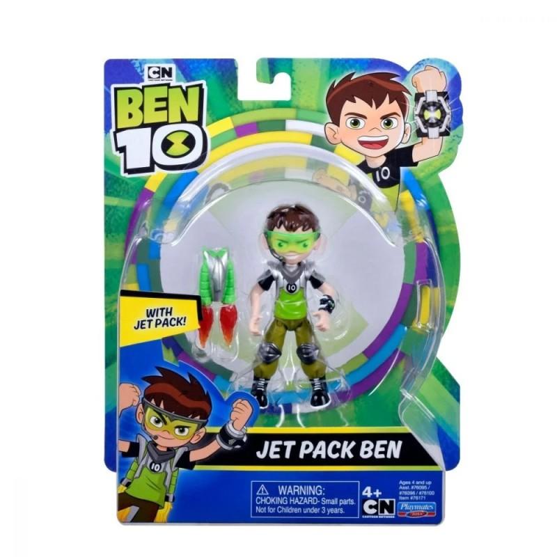 Figurina Ben 10 - JET PACK BEN (12 cm)