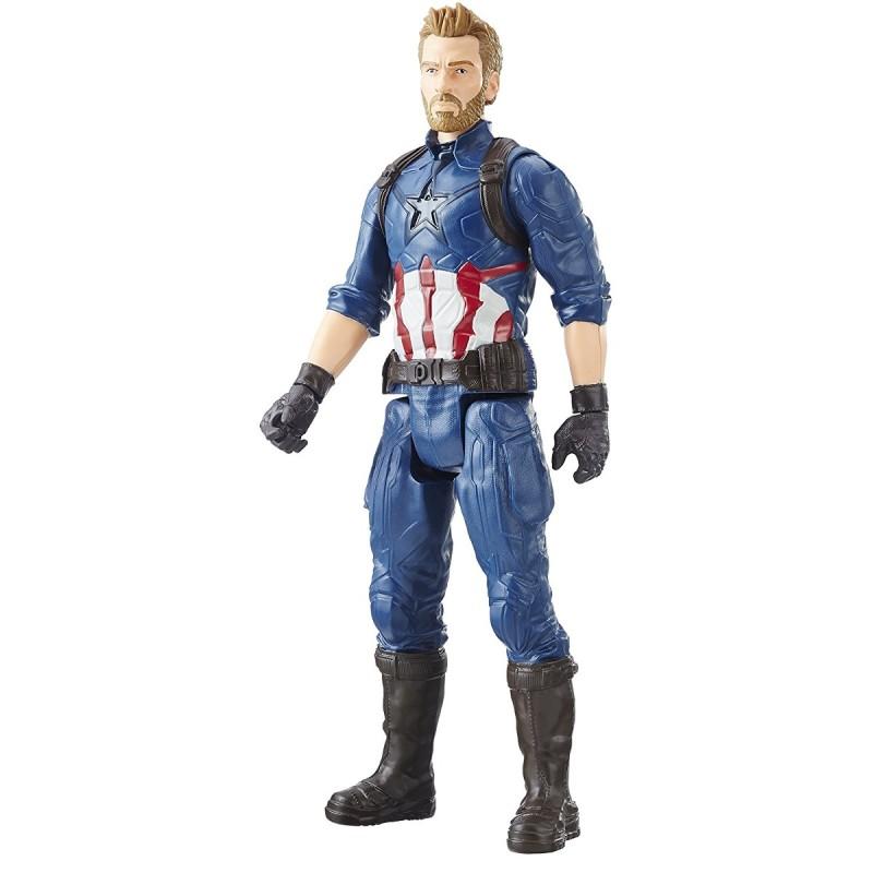 Figurina Captain America (Titan Hero Series)