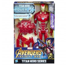 Figurina Ironman cu sunete si accesorii