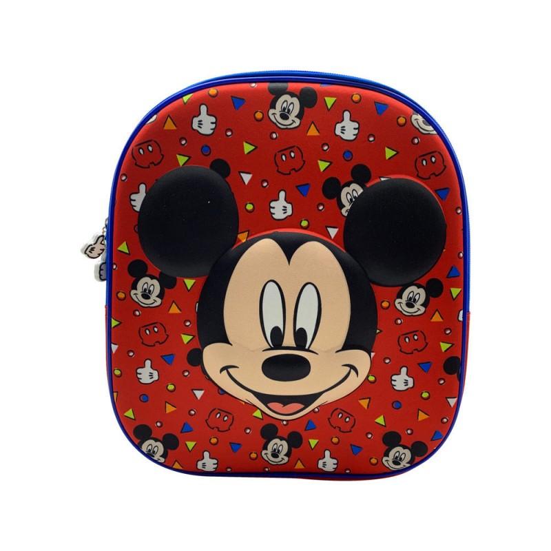Ghiozdan tip rucsac gradinita 3D Mickey Mouse Disney