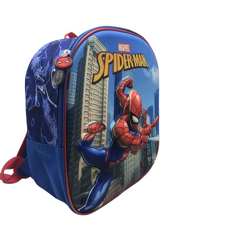 Ghiozdan tip rucsac gradinita 3D Spiderman