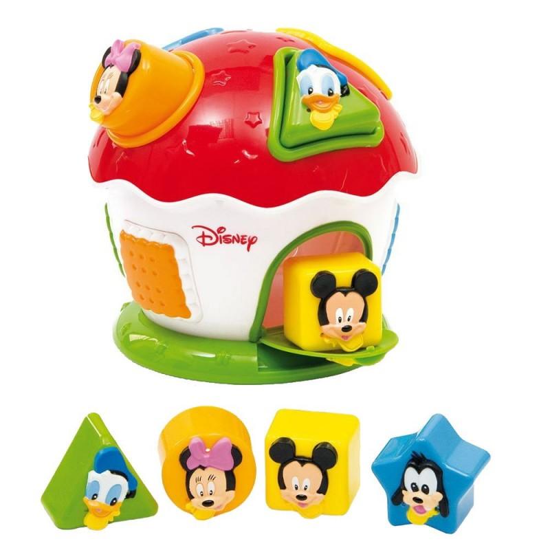 Jucarie bebe de sortat forme Mickey Mouse Disney