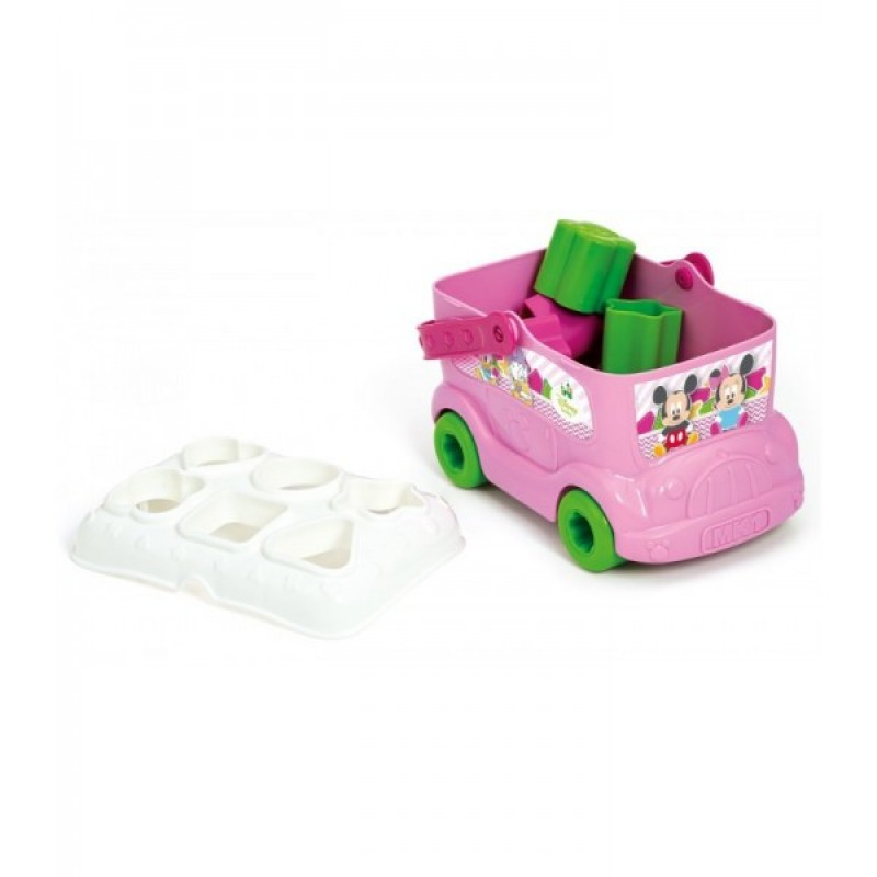 Jucarie bebe Minnie Mouse Disney autobuz pentru sortat forme