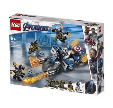 LEGO AVENGERS - Captain America: Atacul Outriderilor