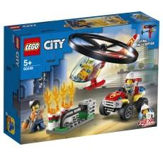 LEGO CITY - Interventie cu elicopterul de pompieri