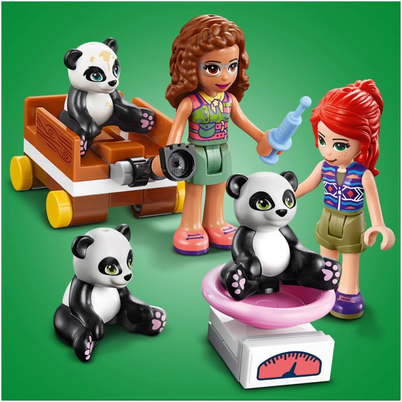 LEGO Friends - Casuta din copac in jungla ursilor panda