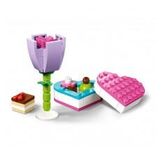 LEGO FRIENDS - Cutie cu ciocolata si flori
