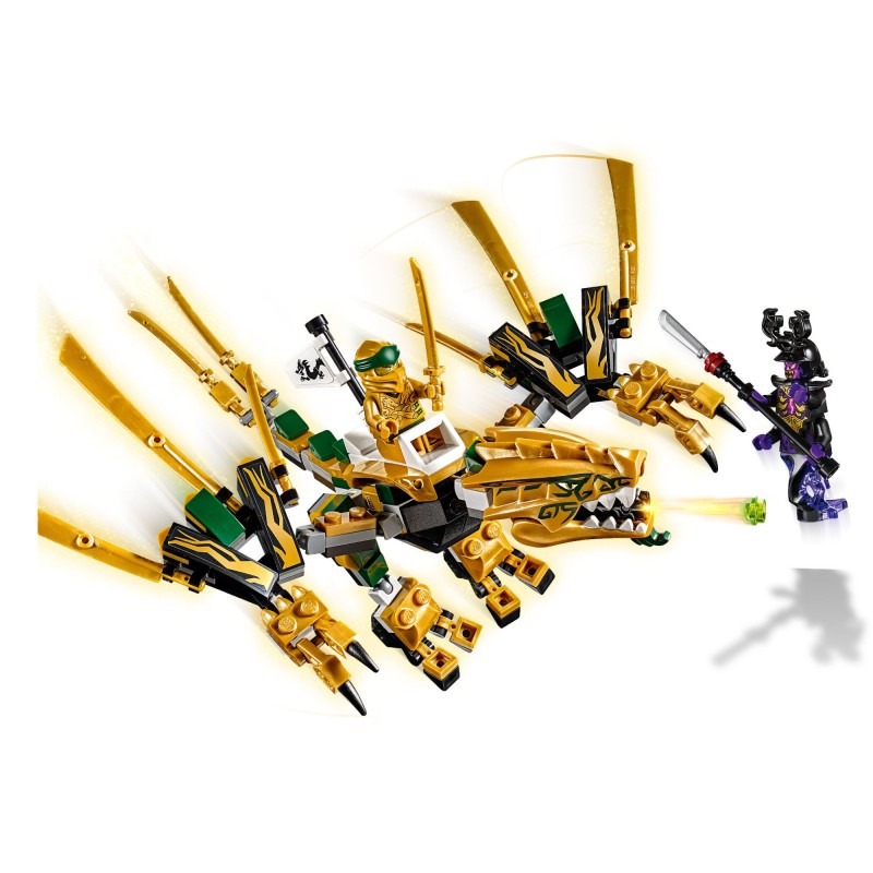 LEGO NINJAGO - Dragonul de aur