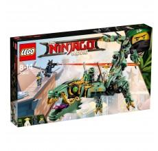 LEGO NINJAGO - Robotul-balaur Ninja Verde