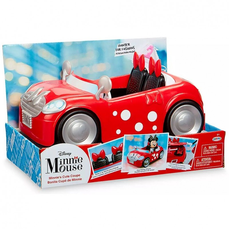 Masinuta Minnie Cooper a lui Minnie Mouse Disney