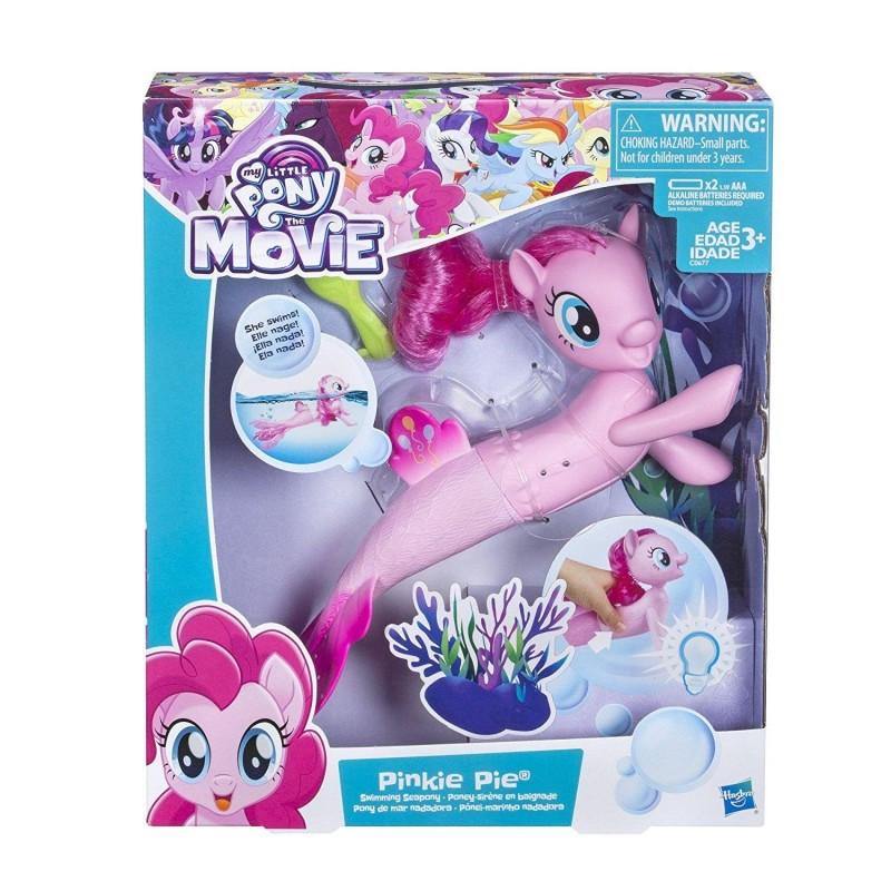 My Little Pony - Figurina Pinkie Pie sirena care inoata