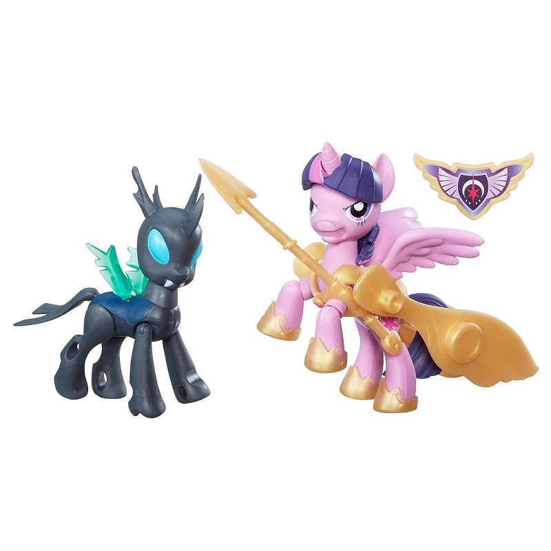 My Little Pony - Figurinele Twilight Sparkle si Changeling - set de joaca