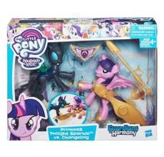 My Little Pony - Figurinele Twilight Sparkle si Changeling - set de joaca