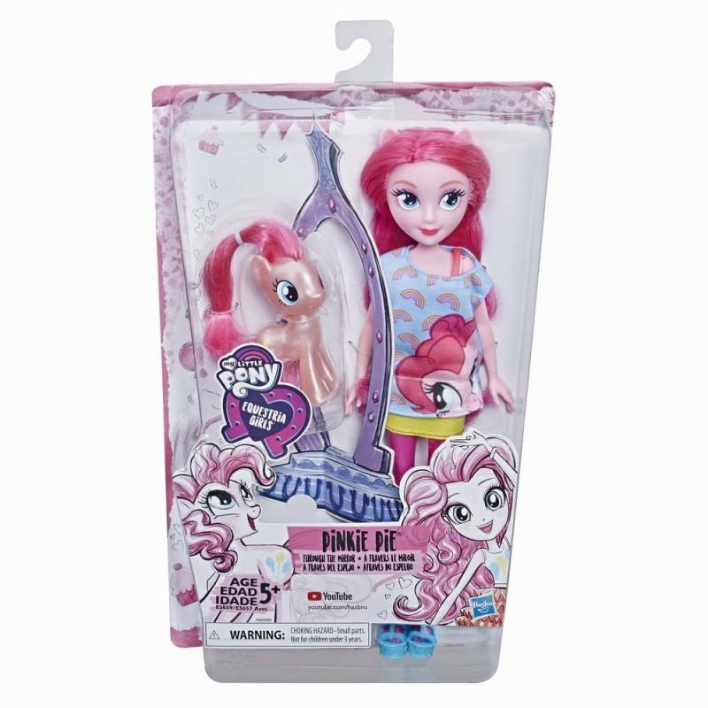 My Little Pony - Papusa Equestria Girls Pinkie Pie cu ponei