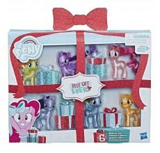 My Little Pony - Set cadou 6 figurine si accesorii