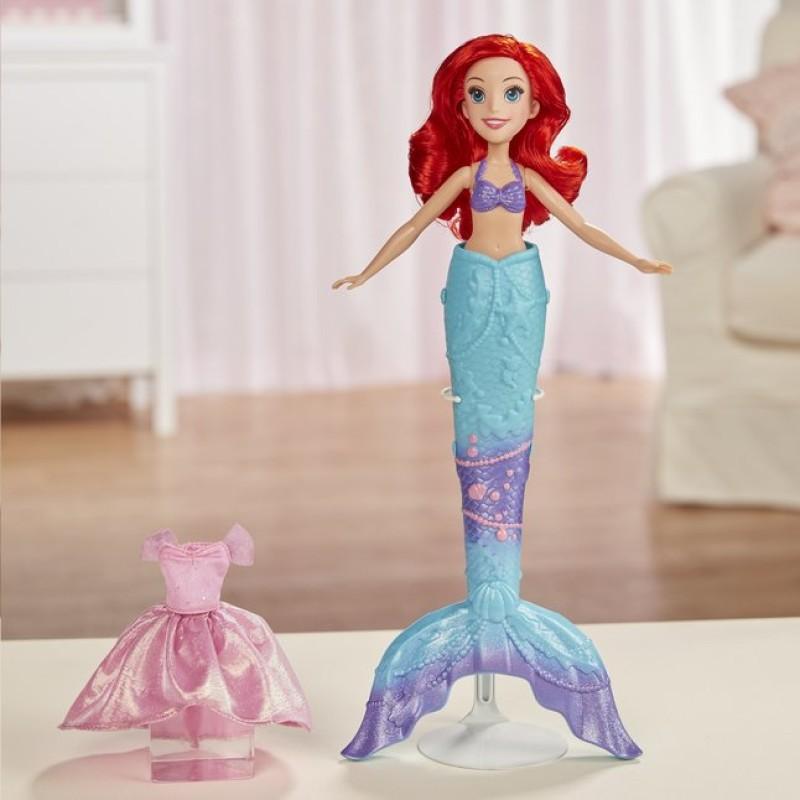 Papusa Ariel Disney - Transformarea surpriza