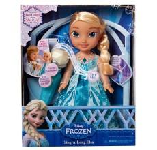 Papusa Elsa Frozen Disney cantareata si set Karaoke