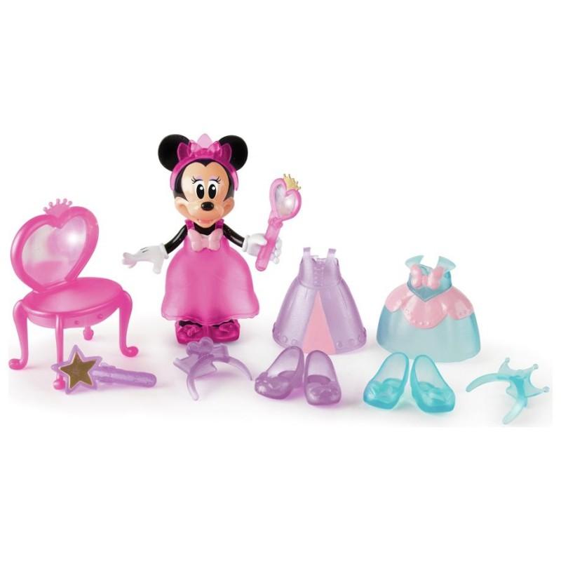 Papusa  / figurina Minnie Mouse Disney cu accesorii - printesa
