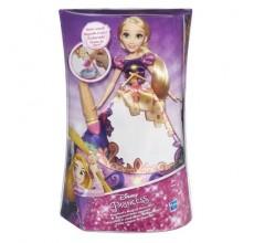 Papusa Rapunzel Disney cu rochita magica