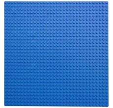 Placa pentru constructii - compatibila LEGO dimensiune medie (albastru)