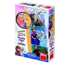 Puzzle Frozen Disney cu masuratoare