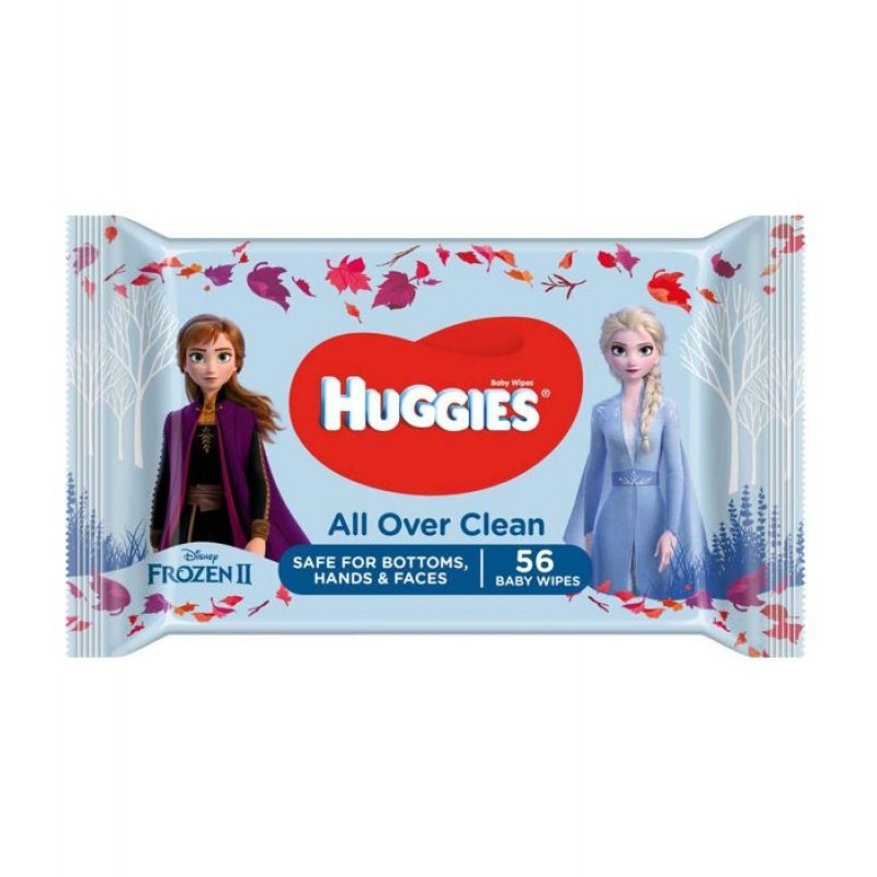 Servetele umede Frozen Disney (Huggies - 56 buc)