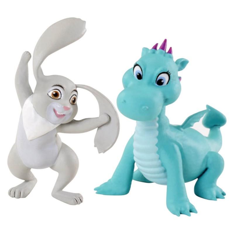 Set 2 figurine animalute prietenii Printesei Sofia Intai
