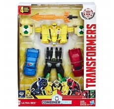 Set 4 figurine Transformers - Ultra Bee, Combiner Force