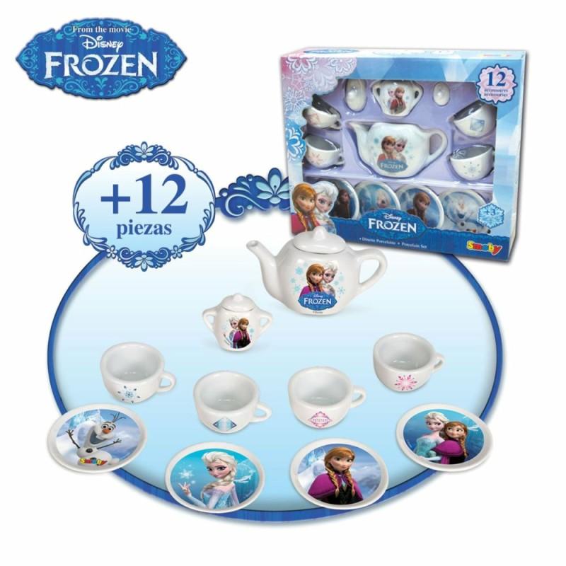 Set de ceai cu accesorii Frozen Disney